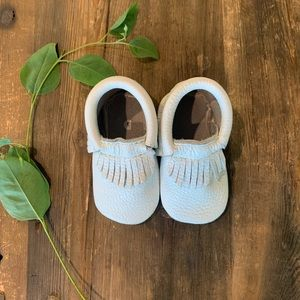First Steps Leather Moccasin